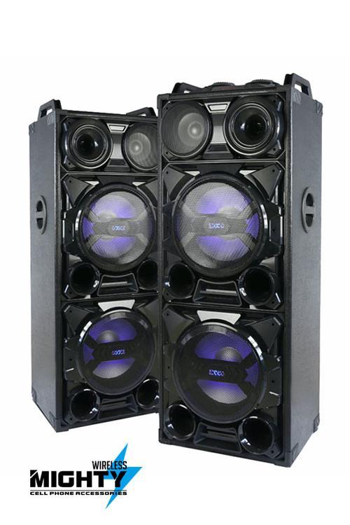 iBastek Wholesale Bluetooth 12INCH X 2 + 6.5INCH X 1 PA Speaker System-1249-iB-CH1249-1