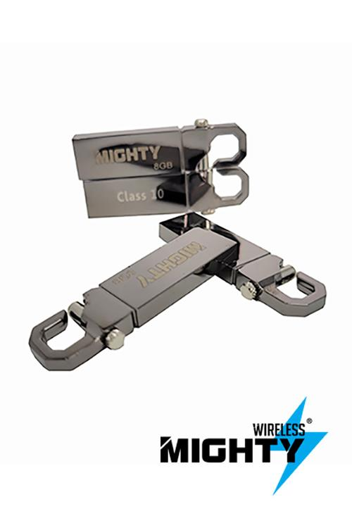 8GB Metallic Wholesale Memory Flash Drive Mighty-MW625
