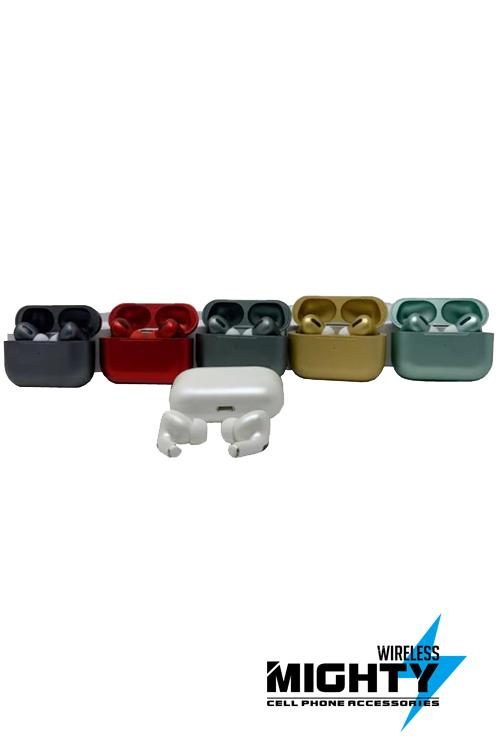 Airpods Pro Chrome TWS Bluetooth Wholesale Earphhones-Inpods13