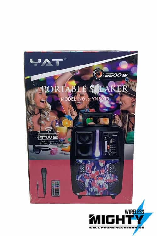 YAT Bluetooth Speaker 8INCH Wholesale-YM8015