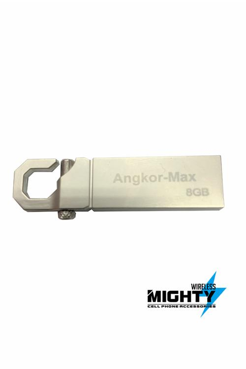 8GB Metallic Flash Drive Angkor NCR8GB