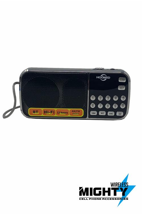 HOOKED Bluetooth AMFM Speaker Wholesale-H-2AMBT