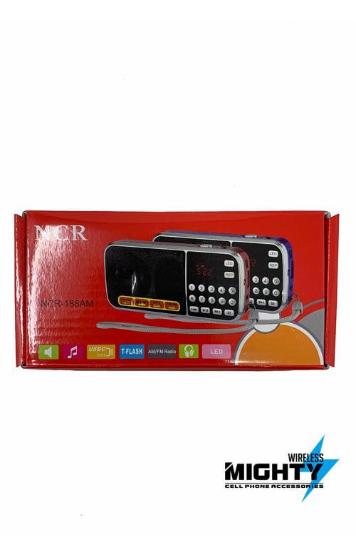 AMFM NCR Bluetooth Mini Speaker Wholesale-NCR188AM