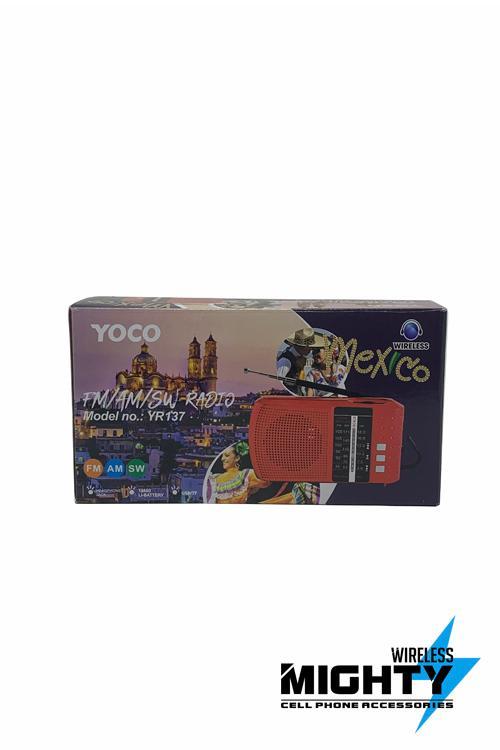 YOCO AMFM Speaker Wholesale-YR137