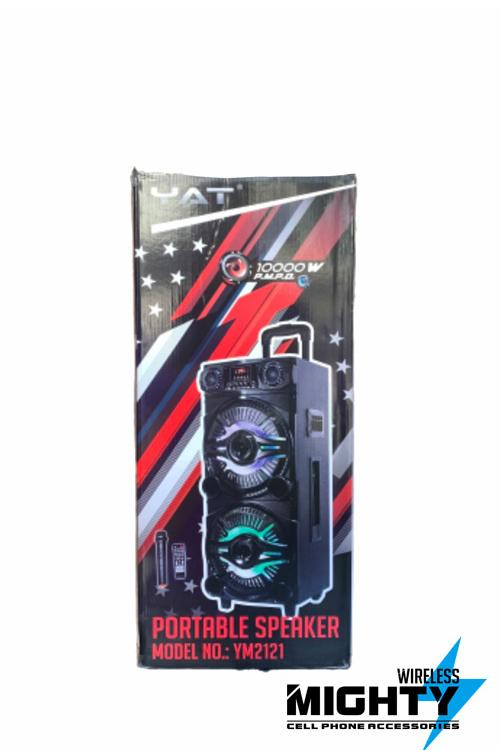 YAT Bluetooth Portable Wholesale Speaker 12INCHx2-YM2121
