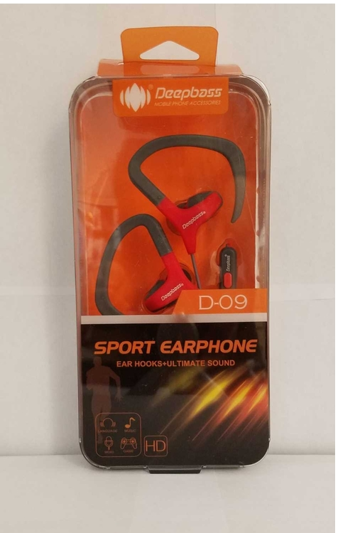 Deep Bass Wholesale D-09 Sports Headset - D09