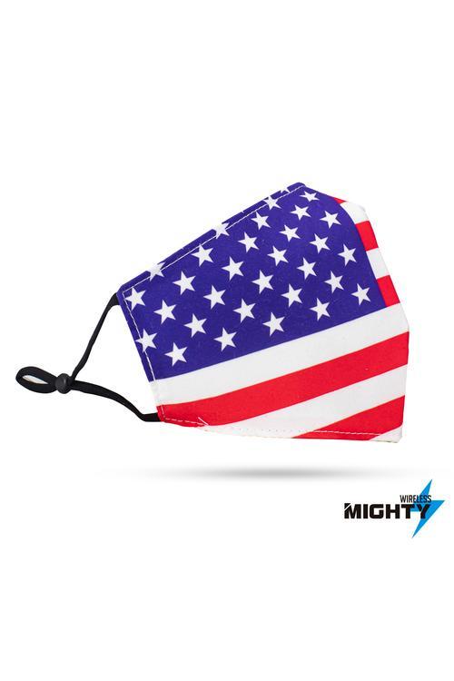 Fashion Mask - Pattern Design - USA FLAG - FASHMASK-USA