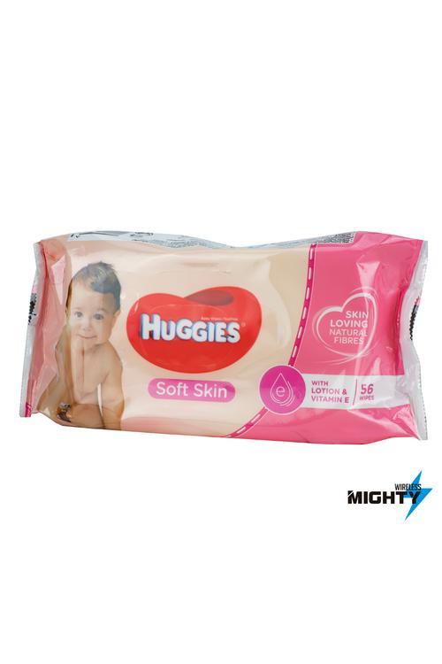 Huggies Soft Skin Wipes - HUGGIES