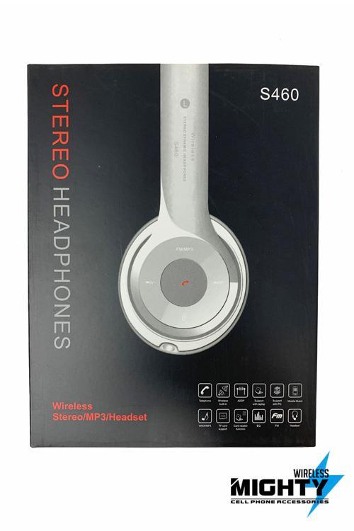 Over the Head Wireless Foldable Wholesale Headphones S460
