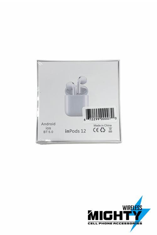 Inpods 12 TWS Wholesale Bluetooth Earphones for All Phones-INPODS12
