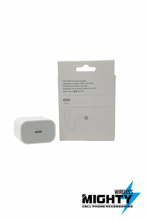 20W USB-C Power Adapter Wholesale for IPhone 12-MW609