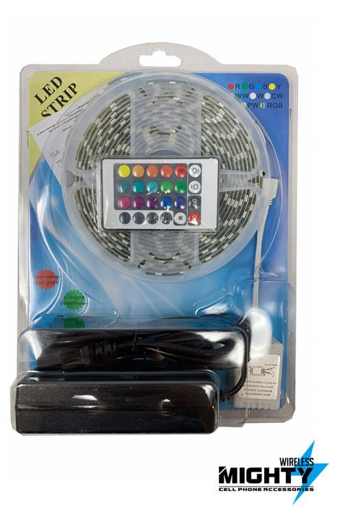 LED Light Strip 15 Feet long with Remote Control-MW621