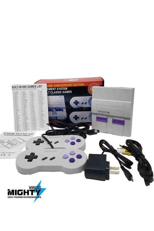 660 in 1 Gamebox with two controllers MW133