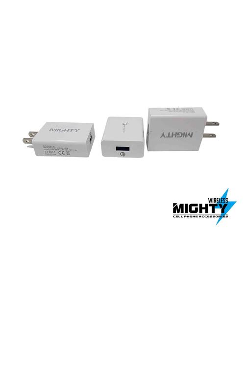Single Port Wall Charger Mighty QC 3.0 MW177