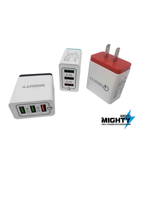 3 Port Wall Charger MW195