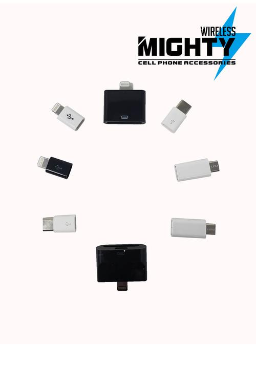 Assorted Adapters for Converting Cables MW257