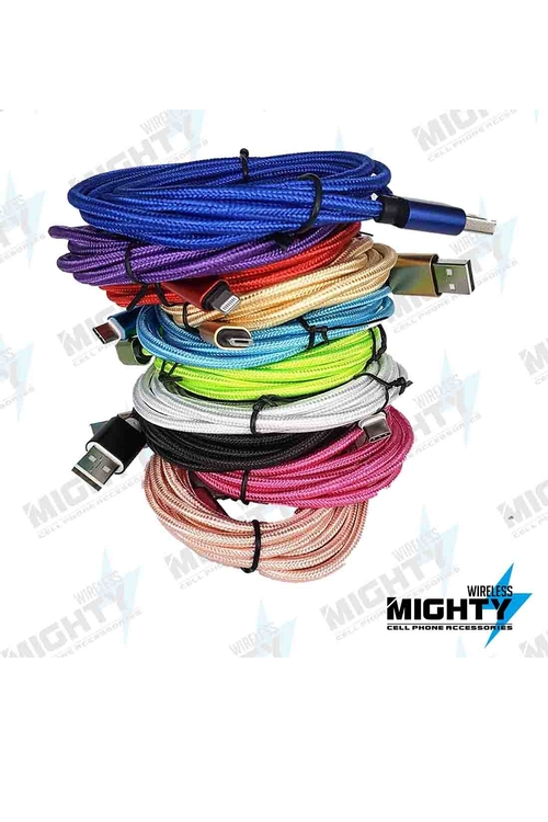 10ft Supporting Fast Charge Wholesale Cable for Micro-Lightning-Type C - MW3MS