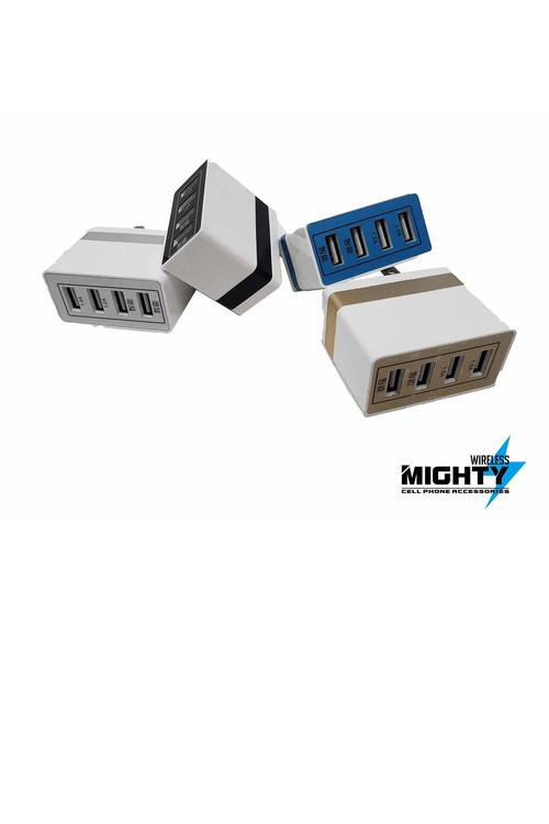 4 Port Wholesale Wall Adapter - MW49