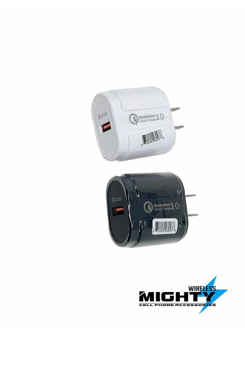 Wall Charger Qualcomm Fast Charging Single Port Wholesale Plug-MW612
