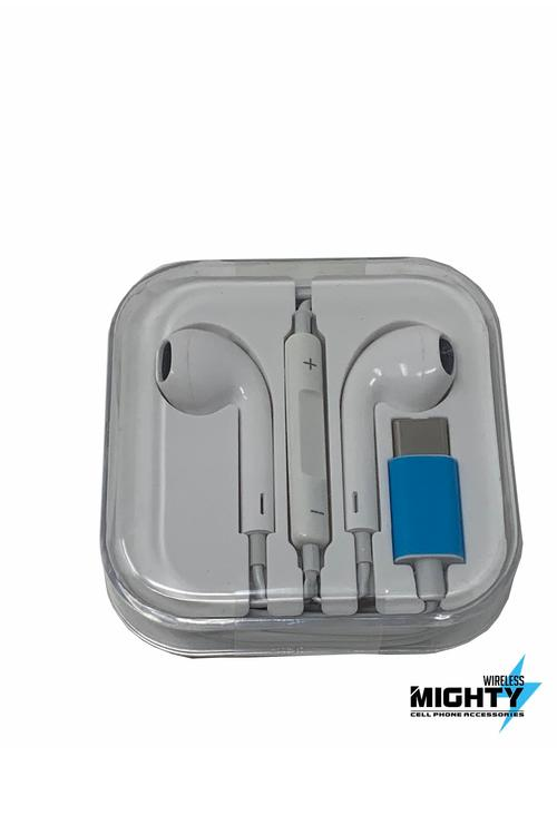 Bluetooth Earphones to Type C Wholesale Earpods-MW617