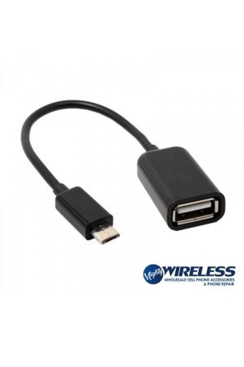 Wholesale OTG Cable for Micro USB, iPhone, and Type C - MW75