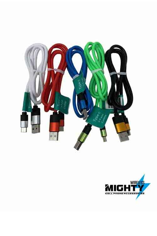 Gummy Charging Cables Wholesale for Iphone, Android, and Type C-MWGV9-MWGIPH-MWGTC
