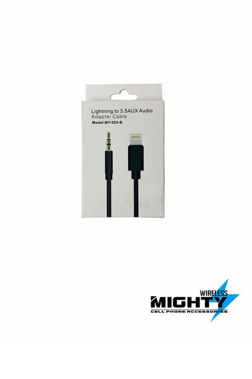 Lightning to Male Auxiliary Wholesale Cable for Iphone-MY-025-B