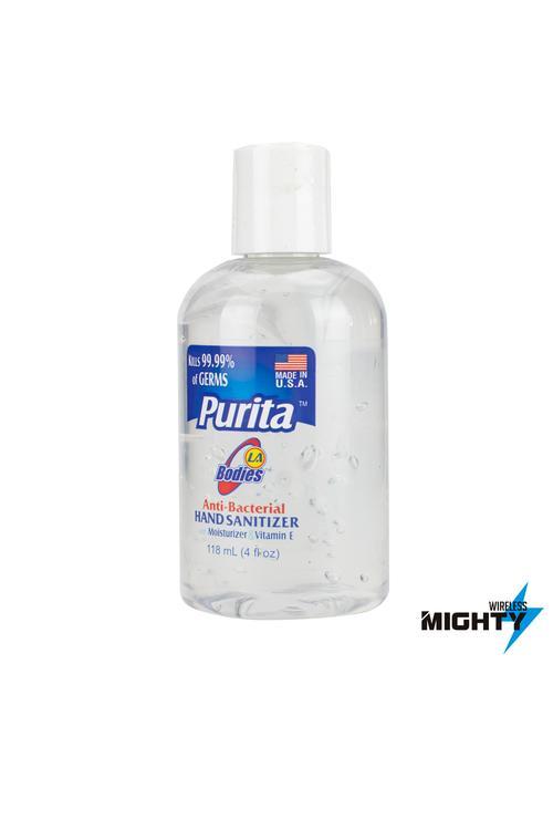 Purita - Anti Bacterial Hand Sanitizer 4oz  - PURITA-SANITIZER