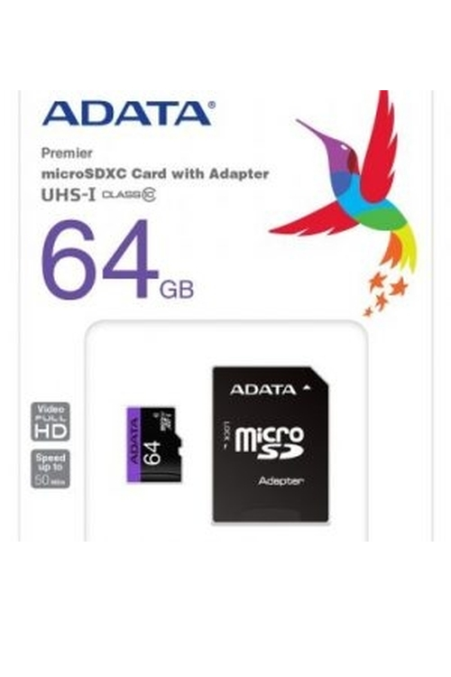 Adata Wholesale 64GB Mirco SD Memory Card - SD64GB