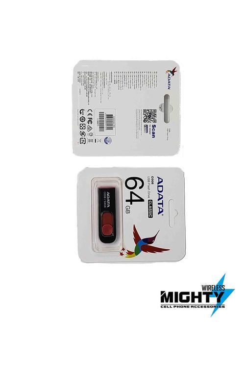 Adata 64GB USB FlashDrive Memory Stick USB64