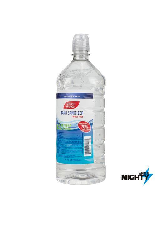 Vlanc Piur - Hand Sanitizer 33.81 Fl Oz - VLANC-SANITIZER-BIGBOTTLE