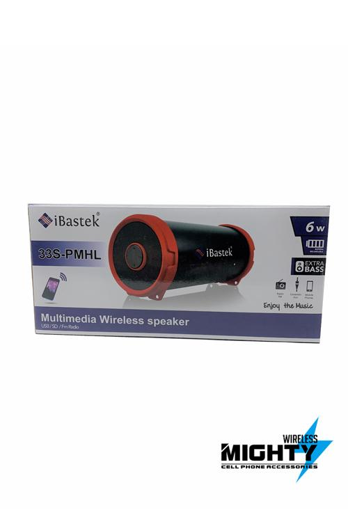 Ibastek Bazooka Speaker Bluetooth Wholesale-33S-PMHL