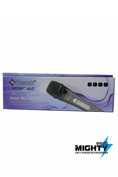 Ibastek Wired Microphone Cord for Large Speakers Wholesale-502MIC-AAZT